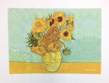 Lens cloth - Microfiber - Fine Art Design: Vase of Sunflowers by Van Gogh