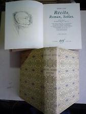 1948 RECITS ROMANS SOTIES A GIDE ILLUS 60 AQUARELLES GOUACHES 2 TOMES CHEZ NRF