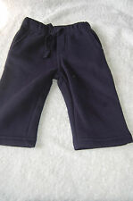Navy Scruffy Joe Jogging Trousers BHS Age 3-6 Months BNWOT