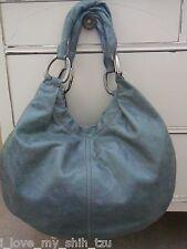 New MIU MIU Hobo Leather Handbag - Green - Agave