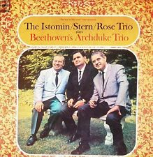 The Istomin Stern Rose Trio plays Beethoven's Archduke Trio * CBS SBR475203