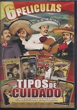 Tipos De Cuidado DVD NEW 6 Pk Pedro Infante Jorge Negrete Javier Solis Y Mas!