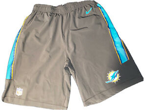 Nike Miami Dolphins Dri-fit On-field Shorts!! Size Large