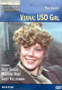Verna: USO Girl DVD Sissy Spacek, William Hurt - WW2 Broadway Theatre Archive