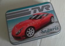 TVR Sagaris Offical Merchandise Keepsake Tin Tobacco Mints Trinkets etc