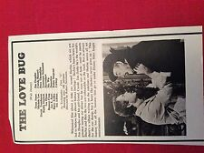 m12s ephemera 1969 film review the love bug dean jones michele lee
