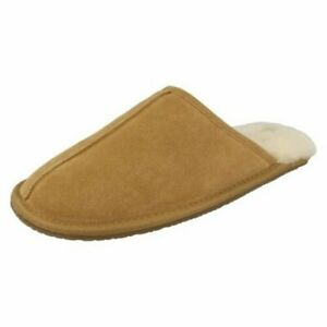 Mens Clarks Mule Slippers 'Crackling Fire'