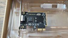 2.5G Gigabit Ethernet PCI-E Network Controller Card RJ-45 PCIe 3.0 x1 -FREE Ship