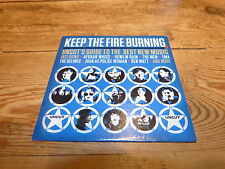 VARIOUS - keep the fire burning !!!!!!!!!! RARE CD PROMO