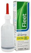 4 Pack - Fleet Extra Cleansing - Relief Enema 7.80oz Each