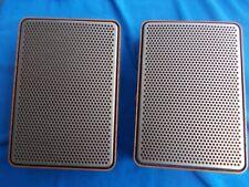 Grundig Super-Hifi : FlachBox 280 :Lautsprecher - 1 Paar Holzoptik Retro Vintage