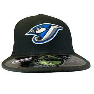 New Era MLB Toronto Blue Jays Old Logo 59fifty Fitted Hat Cap 7 1/4 Authentic