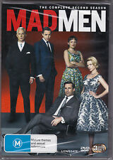 Madmen - The Complete Second Season - Mad Men - DVD - Brand New Sealed