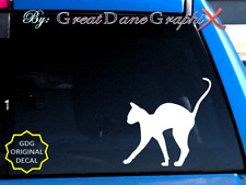 Sphynx Cat -Vinyl Decal Sticker -Color -High Quality