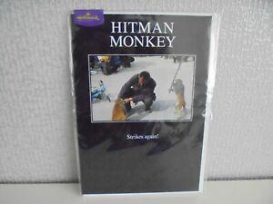 Hit man Monkey Blank Card - Birthday Card LOL Humorous card