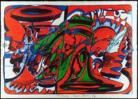 """Fluxus. """"Musikalisches Blättlein"""" 1976 Dieter ROTH (1930-1998 D/CH) handsigniert"""