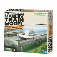 Maglev Train Model Zooms on Track Using Magnetism Science Toy Gift Novelty