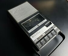Vintage General Electric Ge Portable Cassette Recorder Player 3-5006A Works
