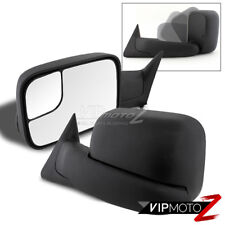1998-2001 Dodge Ram Power Heated Texture Towing Mirror Bracket Left Right Glass