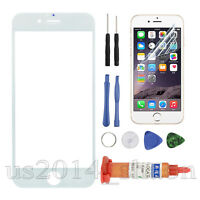For iPhone 6 plus /5.5 inch Front Screen Glass Lens Replacement REPAIR KIT White