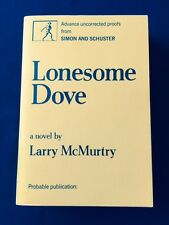 LONESOME DOVE *UNCORRECTED PROOF*