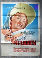 """Original Plakat """" Des Walzerkönigs letzte Liebe """" 1942 Sehr selten !"""