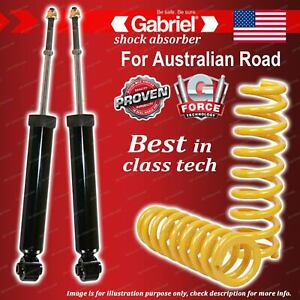 Rear Gabriel Ultra Shocks + Raised King Springs for Nissan Murano 4WD Z50 V6