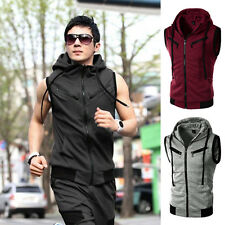 Cotton Blend Regular Size Waistcoats for Men
