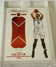 Jahlil Okafor 2015-16 Flawless Ruby Gem RC #6/15 True Rookie Huge Potential