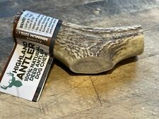 HIGHLAND Deer Antler 100% Tough Natural Long Lasting Dog Puppy Chew EXTRA LARGE