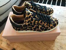 Air & Grace Copeland Leopard Sneakers EU38 UK5 will Fit Size 6