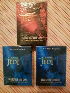 Star Wars Young Jedi Collectible Card Game Menace Of Darth Maul Decipher 1999