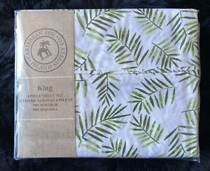 New King 4 Pc Microfiber Bedsheet Bed Sheet Set Caribbean Joe Island Supply Co