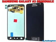 GLS: DISPLAY LCD+TOUCH SCREEN ORIGINALE SAMSUNG PER GALAXY A3 2015 SM-A300F NERO