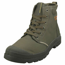Palladium Pampa Lite+ Recycle Wp+ Mens Olive Polyester Fashion Boots