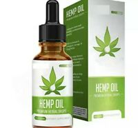 30ml Organic 1000mg Hemp Oil Drops For Pain Relief Reduce Stress