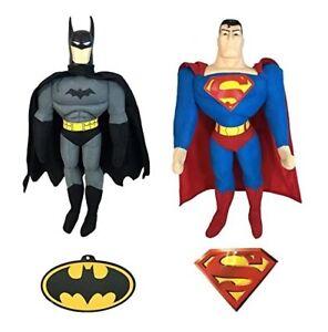 "12"" DC Batman Superman Plush Doll Stuffed Figure Kids Toy Original Licensed Gift"