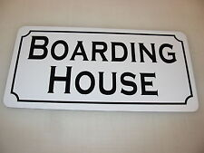 BOARDING HOUSE Metal Sign 4 Costume Cosplay Girls Clubware TV Movie Props