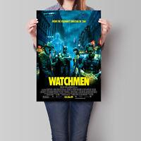 Watchmen Movie Poster 2009 Zack Snyder Film 16.6 x 23.4 in (A2)