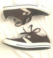 Men's 12 Converse Chuck Taylor All Star Suede Brown Low Top