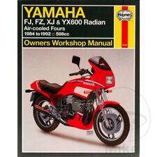 Yamaha XJ 600 N 1990 Haynes Service Repair Manual 2100