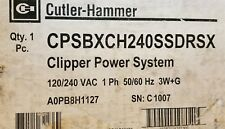 CPSBXCH240SSDRSX CUTLER HAMMER SURGE PROTECTIVE DEVICE. CLIPPER POWER SYSTEM