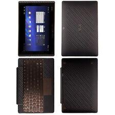 Skinomi Carbon Fiber Skin Cover+Screen Protector for Asus EEE Transformer+KB