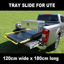 TBS1000 Heavy Duty Tray Slides Cargo Ute Floor Slide Bed for ute pickup truck