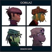 "GORILLAZ "" DEMON DAYS "" NEW UK LP RE-ISSUE ** COLOURED VINYL **"