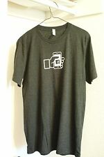Canvas T Shirt With Facebook Mobile logo (M size)