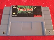 Disney's The Jungle Book SNES (Super Nintendo, 1994) Cleaned Tested