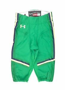 Under Armour Notre Dame Fighting Irish Football Game Pant Men's L Green UF017PM