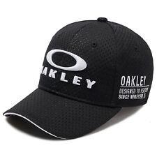 Oakley New Herren BG feste Cap Blackout Bnwt
