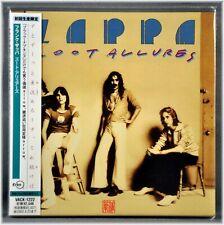 Frank ZAPPA Zoot Allures Orig 2001 JAPAN Mini LP CD VACK-1222 Sealed First Press